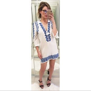 Spell & The Gypsy Santorini Embroidered Dress